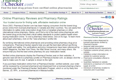 Pharmacy Checker Reviews